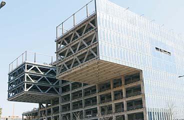 宁波报业传媒大厦钢结构工程